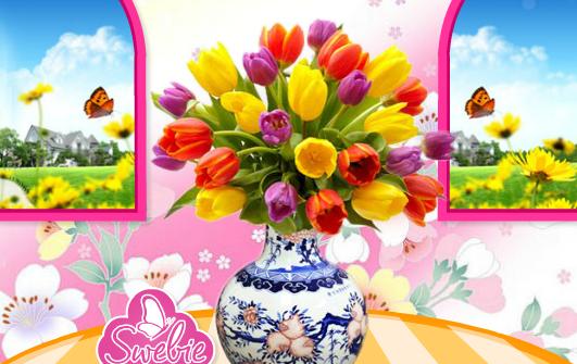 Egzotik Çiçek Dekorasyonu