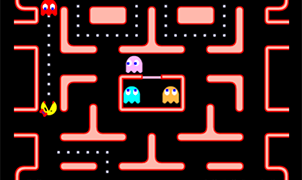 Ms Tapman bir Pacman Oyunu